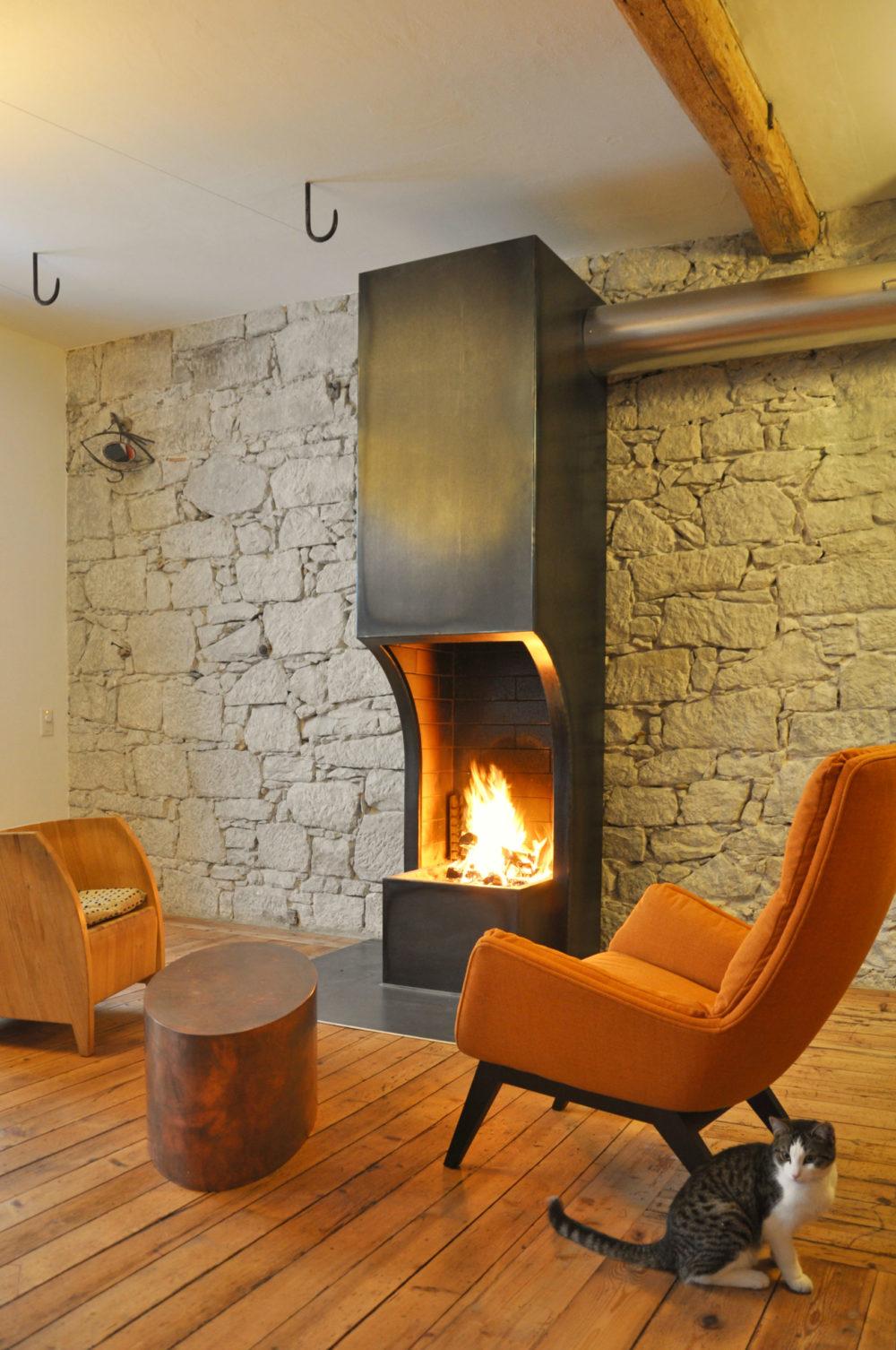Feuerstelle in Wattwil