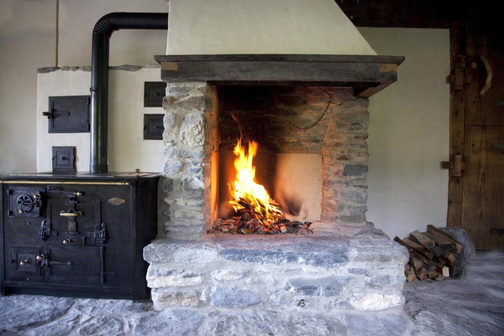 Offene Feuerstelle in Hasliberg