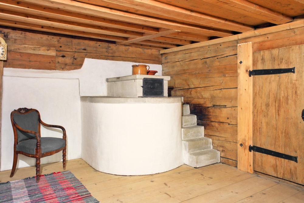Heizen und Kochen im 16. JH - Haus Fibert, Nesslau