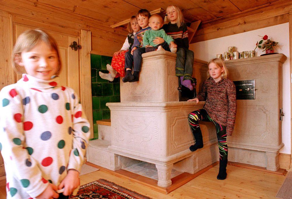 Restauration historischer Sandsteinofen in Krummenau