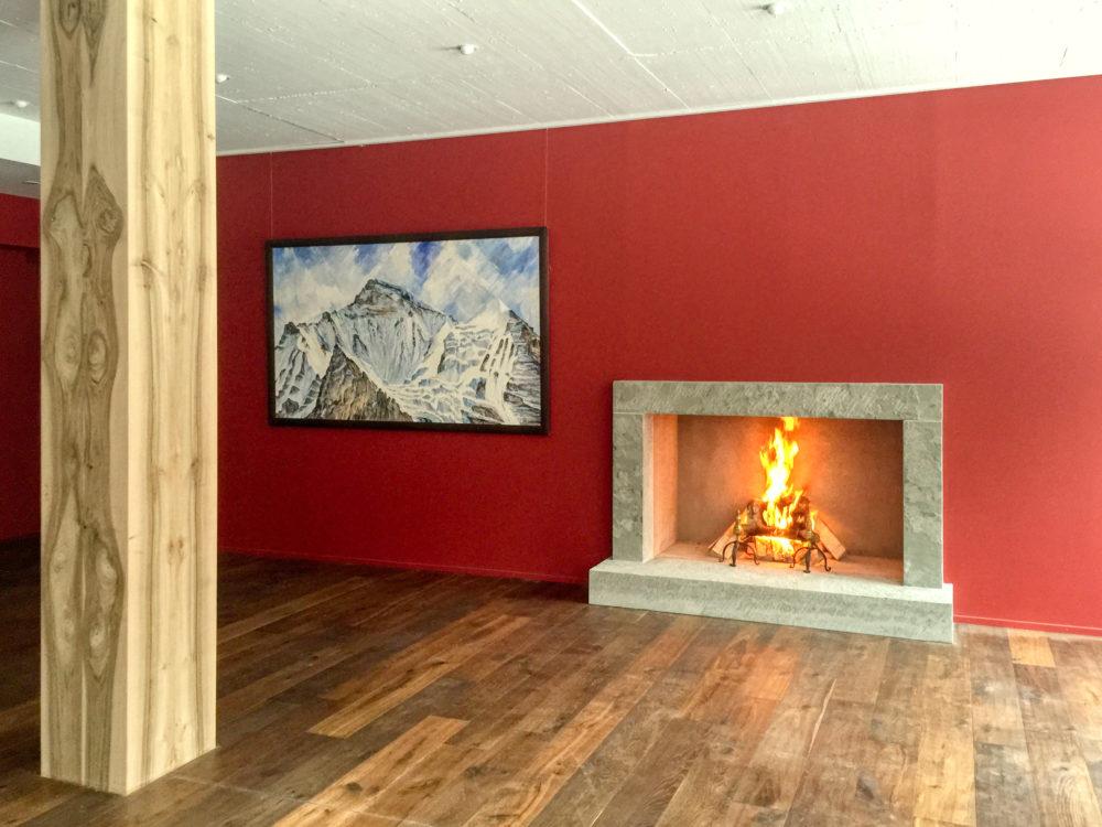 Archaische Feuerstelle in Thalwil