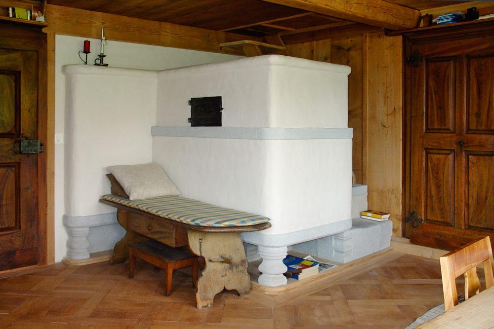 Rekonstruktion Lehmofen / Speicherofen in Ebnat-Kappel