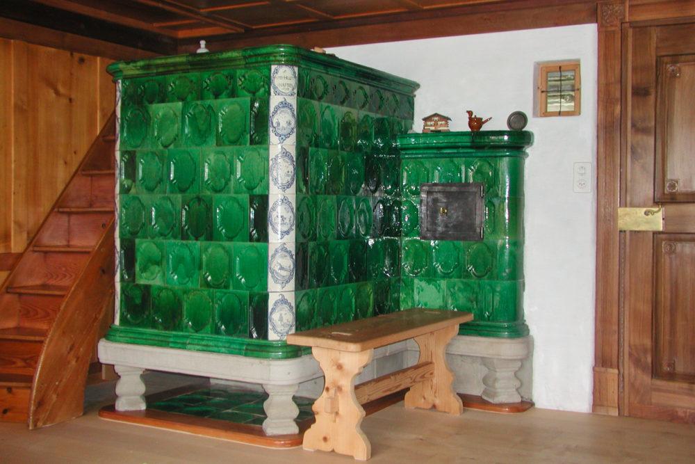 Barockkachelofen in Nesslau